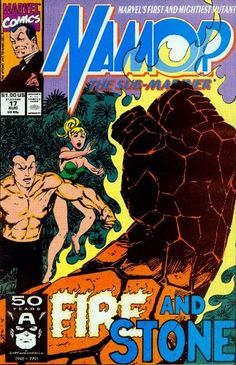 Comic Book Pages, Comic Book Covers, Comic Books Art, Book Art, Misty Knight, Fire And Stone, Sub Mariner, John Byrne, Comic Book Collection