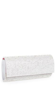 Nina Nina 'Metro' Clutch available at Silver Clutch, Beautiful Handbags, Evening Bags, Bed Pillows, Tory Burch, Pouch, Nordstrom, Purses, Accessories