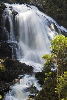 Kosciuszko National Park - Buddong Falls, Australia by Rowland Cain, via Flickr