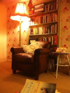 Florence and Rose - cosy home....The perfect reading corner