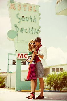 Retro-Chic Miami style