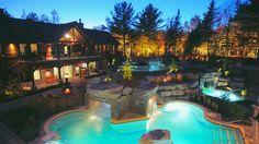 Spas au Québec: top 10 des plus beaux spas où relaxer Sauna Sec, Province Du Canada, Week End En Amoureux, Relaxer, Tonne, Plein Air, Places To Visit, Mansions, Live