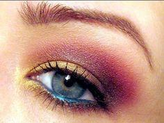 Jewel tone eyes by Goldiestarling