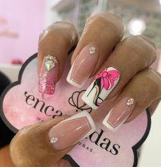 Diy Acrylic Nails, Perfect Nails, Nails Inspiration, Beauty Nails, Cute Nails, Manicure, Nail Designs, Nail Art, Thalia