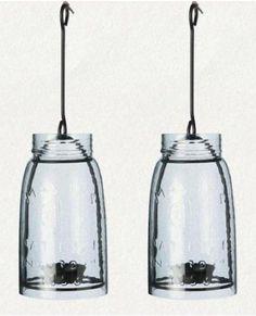 Check out the Mason Jar Lantern in Lighting, Pendant Lights from Terrain for Mason Jar Light Fixture, Mason Jar Chandelier, Mason Jar Lanterns, Mason Jar Lighting, Hanging Lanterns, Chandelier Lighting, Chandeliers, Light Fixtures, Mason Jars