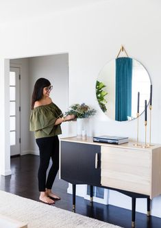 #LaurenNelsonDesign // Karla Gallardo, Co-Founder - How Cuyana's Two Founders Styled Their Homes (Using One Designer)