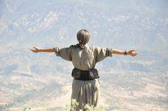 Kurdish fighter - Long live Kurdistan
