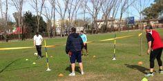 #HoySeJuega dijo presente en el #entrenamiento del equipo #EstrellaRoja, último #campeón de @TorneosElTrebol #domingo