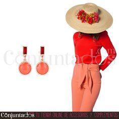 ¿Tienes una boda próximamente y llevas tocado? Mira estos ideales pendientes ★ 9,95 € en https://www.conjuntados.com/es/pendientes/pendientes-medianos/pendientes-con-piedra-circular-naranja.html ★ #novedades #pendientes #earrings #conjuntados #conjuntada #joyitas #lowcost #jewelry #bisutería #bijoux #accesorios #complementos #moda #eventos #bodas #wedding #party #invitadaperfecta #fashion #fashionadicct #picoftheday #outfit #estilo #style #GustosParaTodas #ParaTodosLosGustos