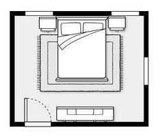 feng shui commanding position bed bedroom