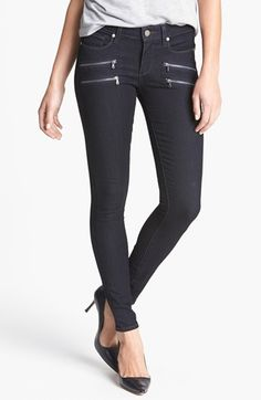 Paige Denim 'Edgemont' Ultra Skinny Jeans (Twilight)