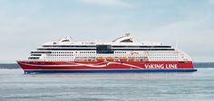Viking Line's new eco-friendly ferry running from Turku, Finland on Liquid Natural Gas