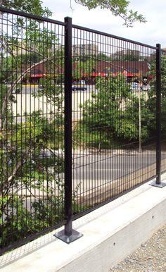 Monroe Black Steel Decorative Fence Panel Common 8 Ft X