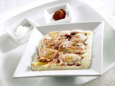 Cómo preparar pulpo a la gallega Mousse, Mashed Potatoes, French Toast, Breakfast, Ethnic Recipes, Food, Spanish Kitchen, Potatoes, Calamari