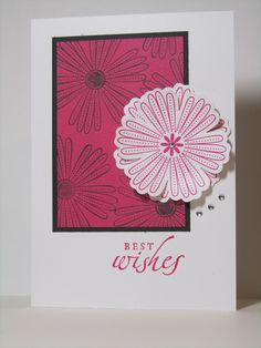Stamp Up Your Craft: Pink, Girlie and Bling