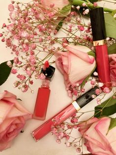 Rouge Coco Gloss in Sibylla and Poppea and Rouge Allure Ink in Entusiasta from the Chanel Neapolis Collection