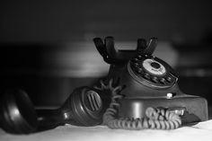 old telephone with dialplate Telephone, Landline Phone, Old Things, Phone