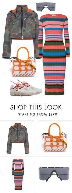 """""""Wednesday casual."""" by kvogele ❤ liked on Polyvore featuring Heron Preston, Stine Goya and Porsche Design"""