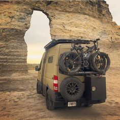 The 27 best RVs and camper vans - Camper Life Mercedes Sprinter Camper, Sprinter Van, Truck Camper, 4x4 Camper Van, Kombi Motorhome, Camper Life, Offroad Camper, Stealth Camping, Vans