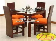 juegos de comedor modernos - Buscar con Google First Home, Furniture Decor, Office Desk, Dining Table, Living Room, Google, Decoration, Home Decor, Contemporary Dining Rooms
