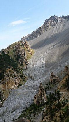 La Casse Déserte, Queyras Regional Park, France - op weg naar Col d` Izoard