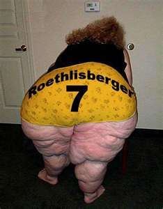 Self explainatory. Typical Steelers fan in their finest hour. Gross!!!