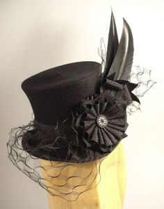 pictures of ladies hats | Ladies Top Hat from House of Nines Design