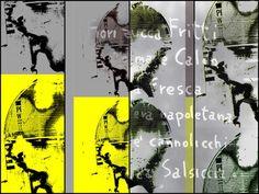 'The yellow unknown woman meets Italy' von Gabi Hampe bei artflakes.com als Poster oder Kunstdruck $23.56