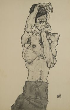 Egon Schiele, 1917
