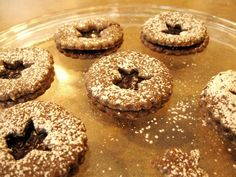 Traditional German Gingerbread Recipes: Spiced Linzer Cookies