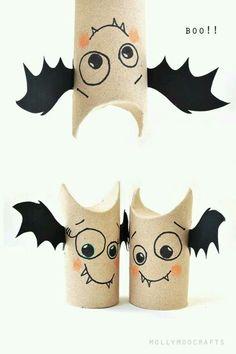 Toliet roll bats