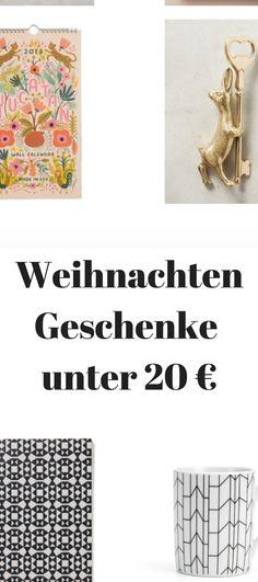 Geschenke weihnachten 20 euro