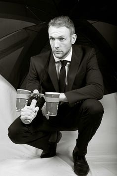 Morella double cup holder with Co Founder and Inventor - Ross Malcolm