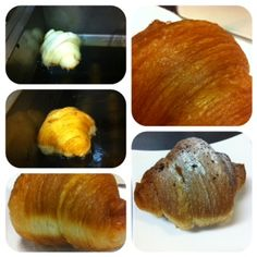 Fried croissant. You know what they say. Frying can make a shoe taste great.