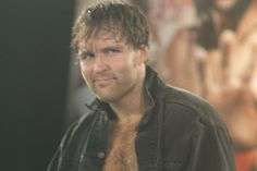 Dean Ambrose - I don't know what it is about this shot, but it is soooooo hot!