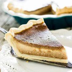Apple Butter Pie – Bauer's Market & Garden Center Fall Dessert Recipes, Köstliche Desserts, Pie Dessert, Delicious Desserts, Holiday Recipes, Biscuits, Butter Pie, Butter Recipe, Recipe With Apple Butter