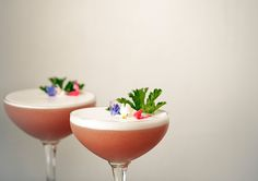 Raspberry & Scented Geranium Sour recipe by Lottie Muir