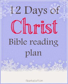 12 Days of Christmas FREE Bible Reading Plan + The Missional Weekend Link Up Party - F Dean Hackett - Foundational