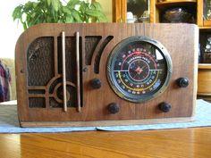 WORKING FAIRBANKS MORSE 58 ANTIQUE TUBE RADIO.RESTORED ELECTRONICS! | eBay