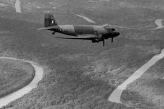 RAF C-47 DAKOTA FLYING OVER BURMA JUNGLE , Theatre during the Second World War…