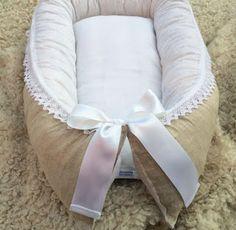 Leonora.fi: Babynest med ullstoppning till nedsatt pris