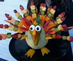Thanksgiving Edible Arrangement,