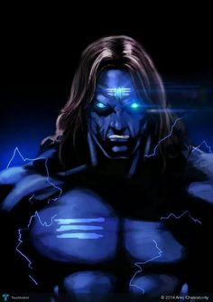 Nilalohita - this thing is awesome. Shiva going Super Saiyan LOL