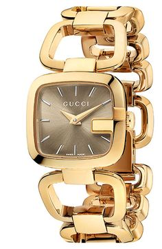Gucci 'G-Gucci - Small' Bracelet Watch available at #Nordstrom