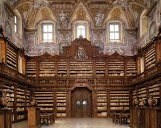 the Library of Galileo, Naples