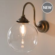 Compton Wall Light made by Jim Lawrence