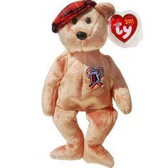 CHARITEE the PGA Golf Bear Teddy Bear - Ty Beanie Babies