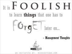 Management Thought of the Day... by www.midnightcake.com