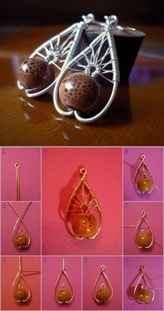 DIY Beautiful Wire Pendant DIY Projects | UsefulDIY.com Follow Us on Facebook --> https://www.facebook.com/UsefulDiy