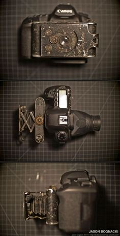 Canon 5D Mark II with old lens